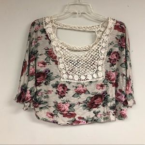 Crop Top Shawl